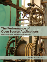 The cover for The Performance of Open Source Applications